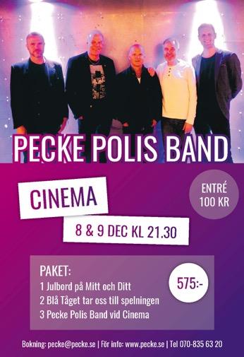 Pecke Polis Band Cinema